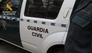 Vehículo de la GC.