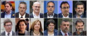 Presos del proceso catalán