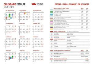 calendario-escolar-castilla-la-mancha-2020-2021