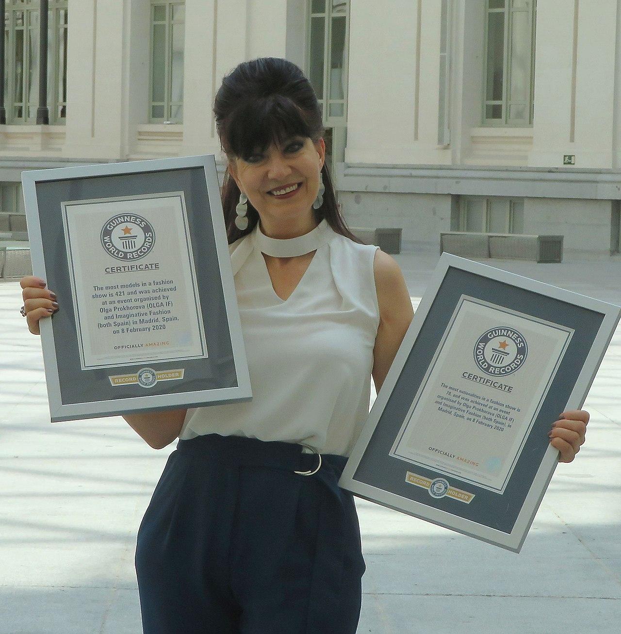 Olga Prokhrorova diseñadora de moda